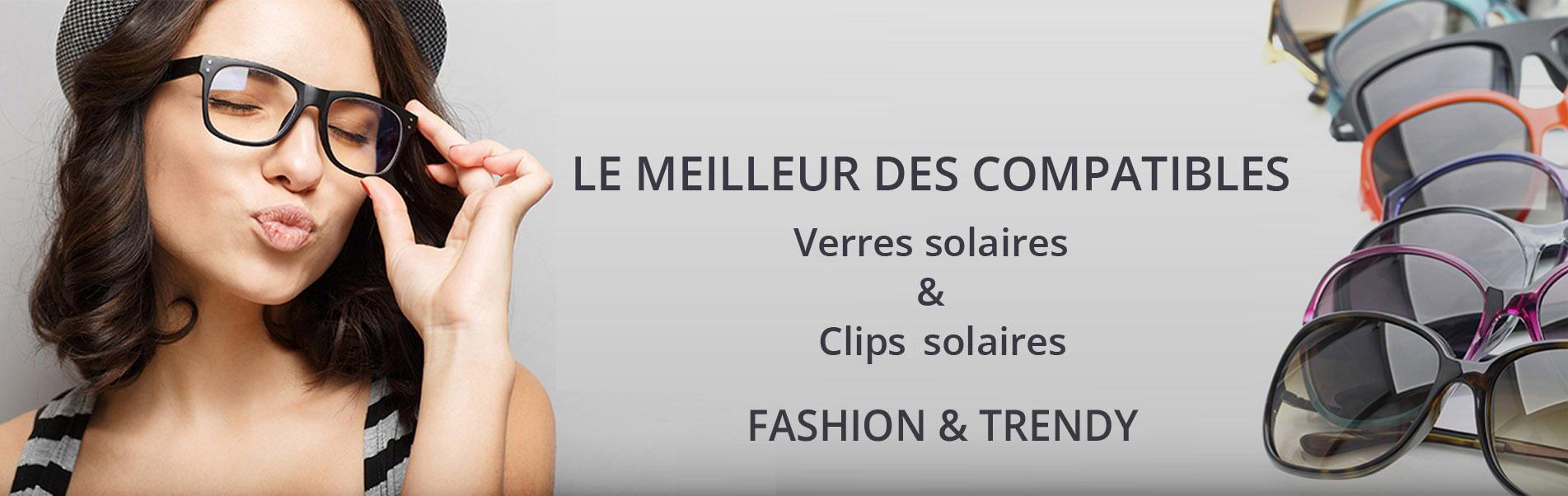 Clips solaires et Verres solaires - Changer mes verres